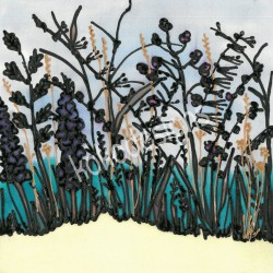 Seagrass greetings card