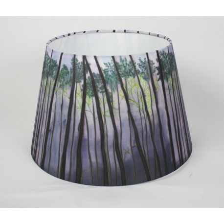 Into the Woods Print coolie shade