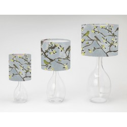 Around the garden print lampshade