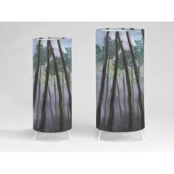 Tree tops priint tablelight