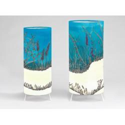 Seagrass print tablelight