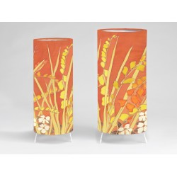 Crocosmia print tablelight