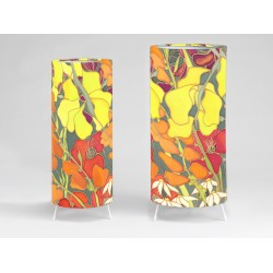 Hedgerow print tablelight