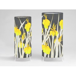 Yellow Iris Print tablelight