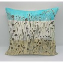 Sand dunes cotton print cushion