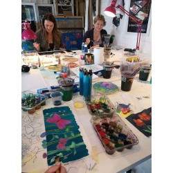 Evening Silk Painting Class