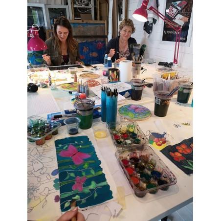 Evening Silk Painting Class