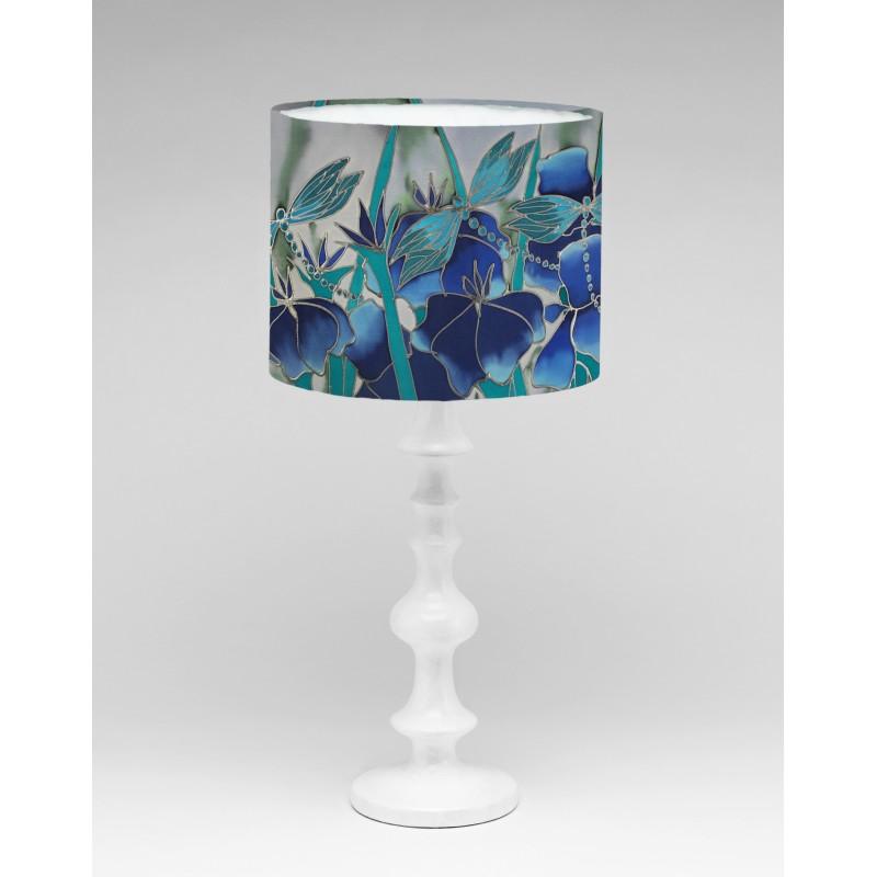 Dragonfly silk lampshade