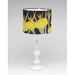 Iris silk lampshade