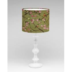 Into the garden silk lampshade