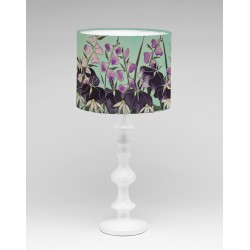 Dawn Hedgerow silk lampshade