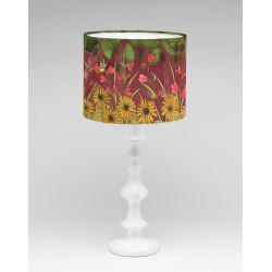Autumn Hedgerow silk lampshade