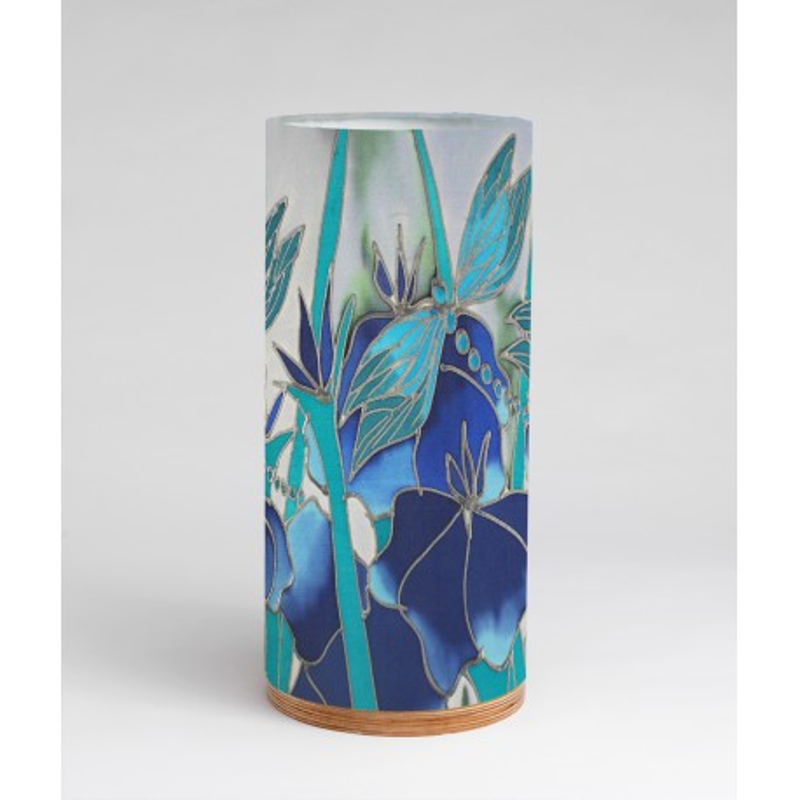 Dragonfly silk tablelight
