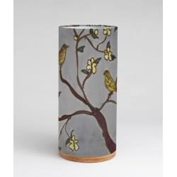 Dusky Hedgerow silk tablelight