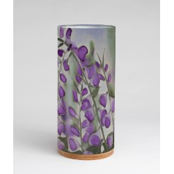 Dusky Hedgerow silk tablelight