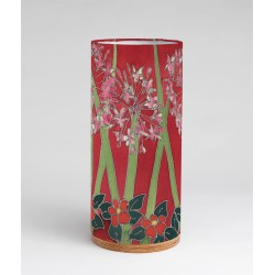 Pink agapanthus silk tablelight