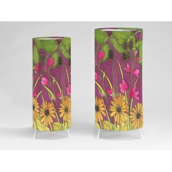Autumn hedgerow print tablelight
