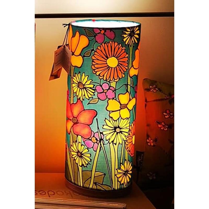 Summer Meadow silk tablelight