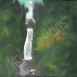 Assaranca waterfall bamboo print