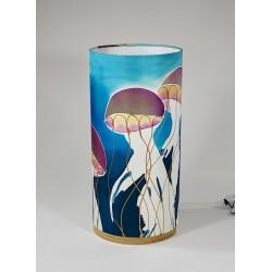 Jellyfish silk tablelight