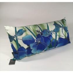 Dragonfly silk cushion
