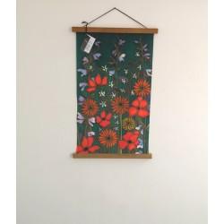 Summer meadow  velvet poster