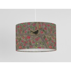 Autumn garden print ceiling shade