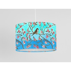 Lockdown garden print ceiling shade
