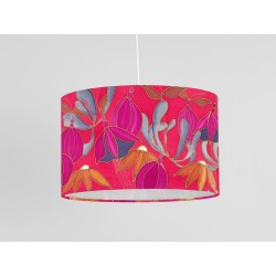 Dusky Hedgerow (LP) print ceiling shade