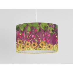 Autumn Hedgerow print ceiling shade