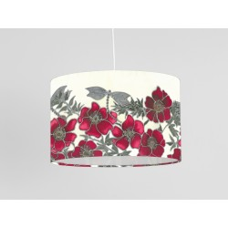 Red Dragon print ceiling shade