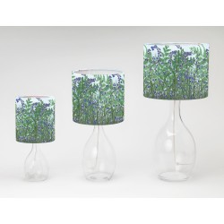 Ferns and Bluebells print tableshade