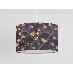 Out of the Garden silk ceiling shade