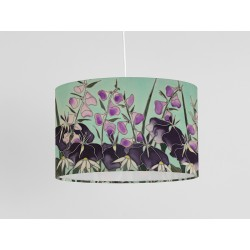 Dawn Hedgerow silk ceiling shade