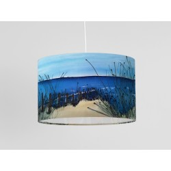 Down to the Beach silk ceiling shade