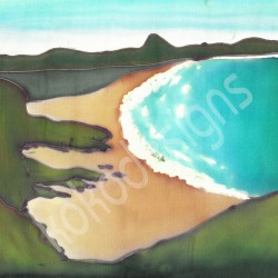 Ballymastocker bay greetings card