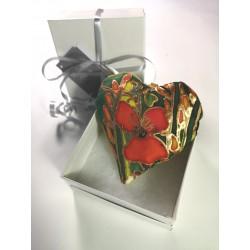 Hedgerow silk heart