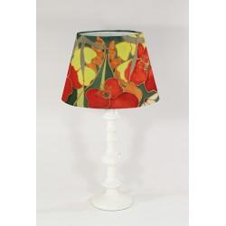 Hedgerow silk lampshade