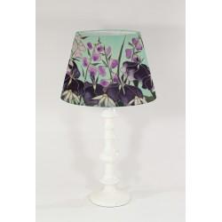Dawn Hedgerow silk lampshade