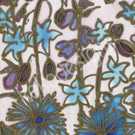 Cornflower bamboo print