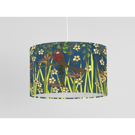 Parrot print ceiling shade