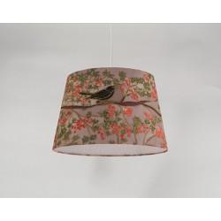 Autumn garden silk ceiling cone shade