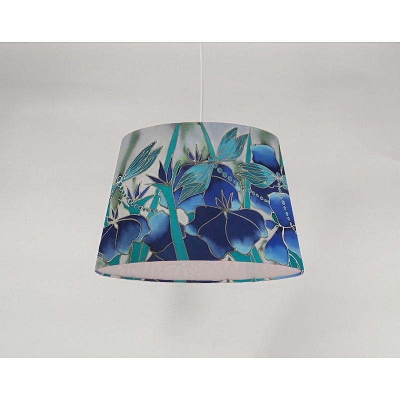 Dragonfly silk ceiling cone shade