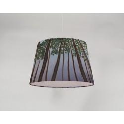 Treetops silk ceiling cone shade