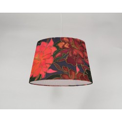 Rhododendron silk ceiling cone shade