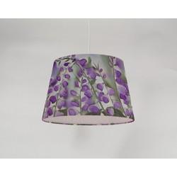 Foxglove silk ceiling cone shade