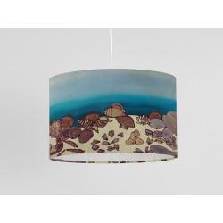Crocosmia Silk Drum Lampshade
