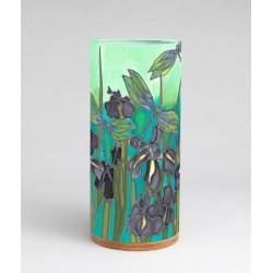 Purple Dragon silk tablelight