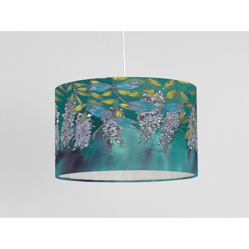 Wisteria silk ceiling cone shade