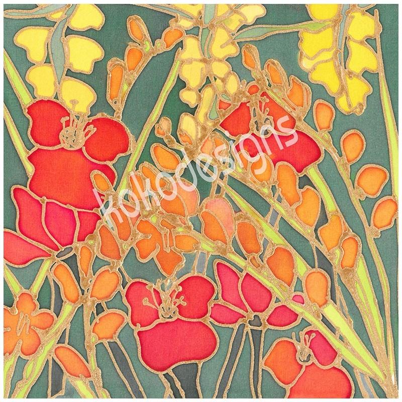 Hedgerow bamboo print